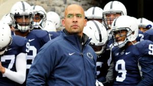 PSU HC James Franklin deserves a lot of credit this year.